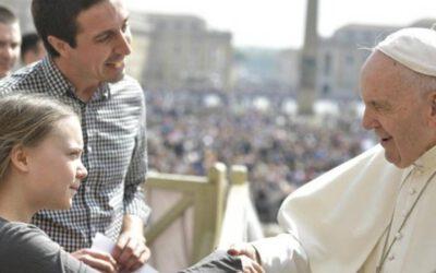 El Papa Bergoglio se alía con el régimen comunista chino y con Greta para la eco-dictadura mundialista