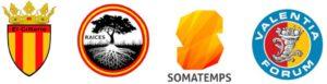 Escudos enseñas de asociaciones culturales identitarias españolas