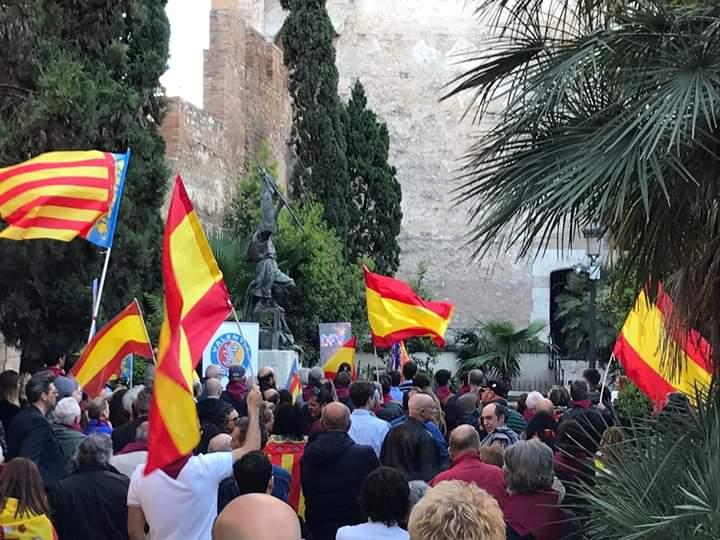 Evento manifestación conmemoración El Palleter en Valencia por Valentia Forum