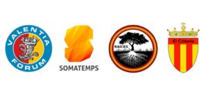 Logotipos de las Asociaciones Culturales que forman la Coordinadora Desperta