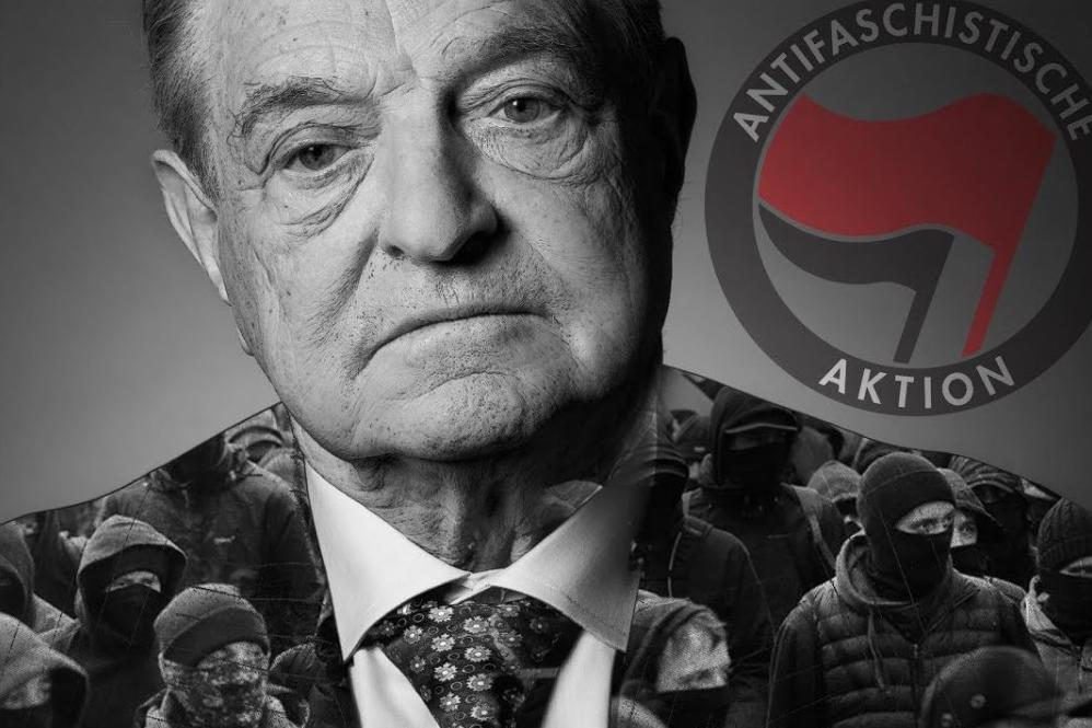 El grupo terrorista de George Soros, Antifa causa el terror en todo el mundo por Valentia Forum