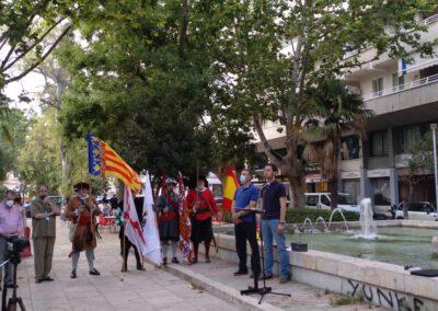 Acto Homenaje Miguel de Cervantes por Valentia Forum en Valenciaº