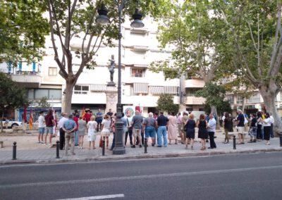 Acto Homenaje Miguel de Cervantes por Valentia Forum en Valencia