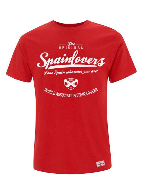 Camiseta roja Spainlovers Cruz de Borgoña