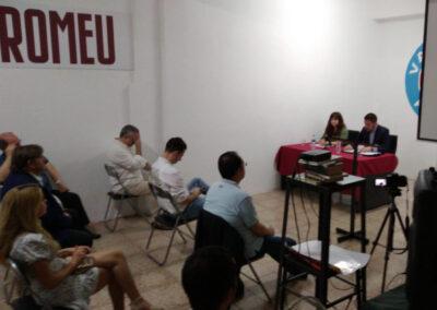 Conferencia aniversario Valentia Forum y Casal Romeu