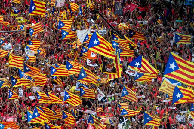 Diada catalana una gran mentira contada al sector de la sociedad más radical de Cataluña