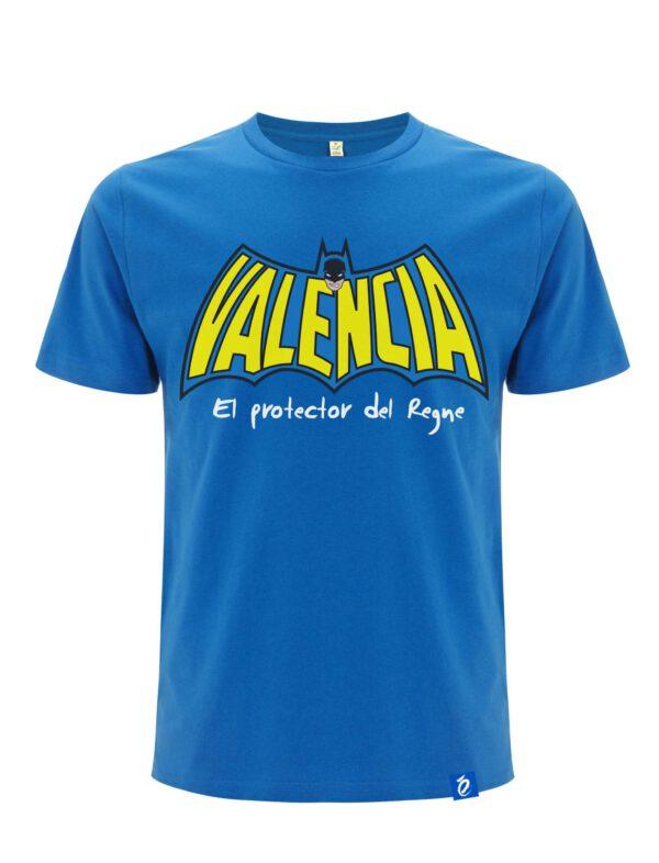 Camiseta Azul Batman Rat Penat Regne Valencia