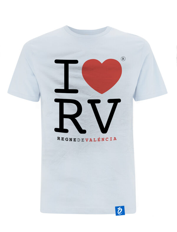 Camiseta Blanca Love Regne Valencia