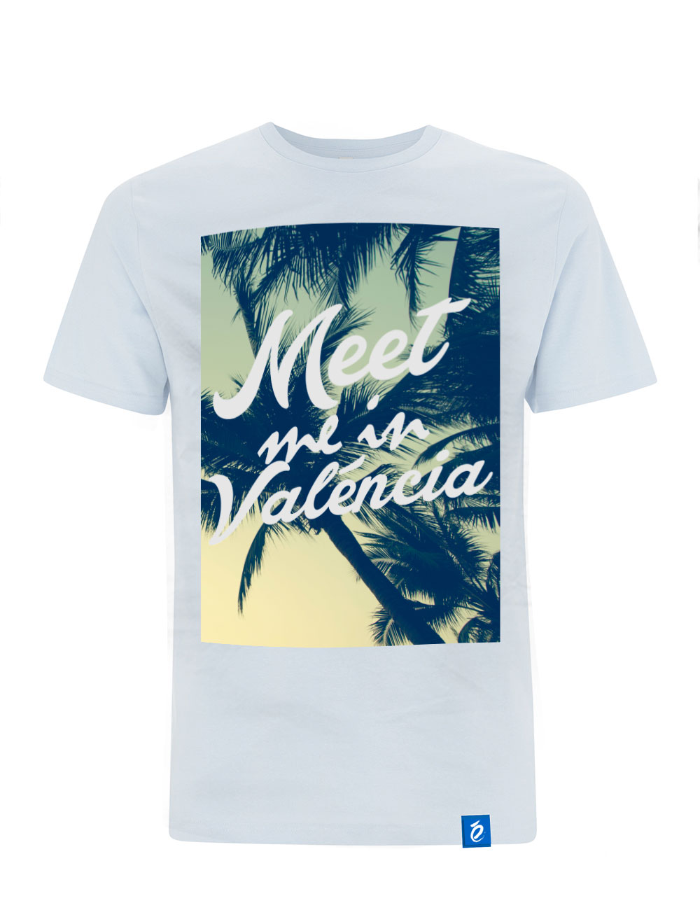 Camiseta Blanca Meet Me in Valencia