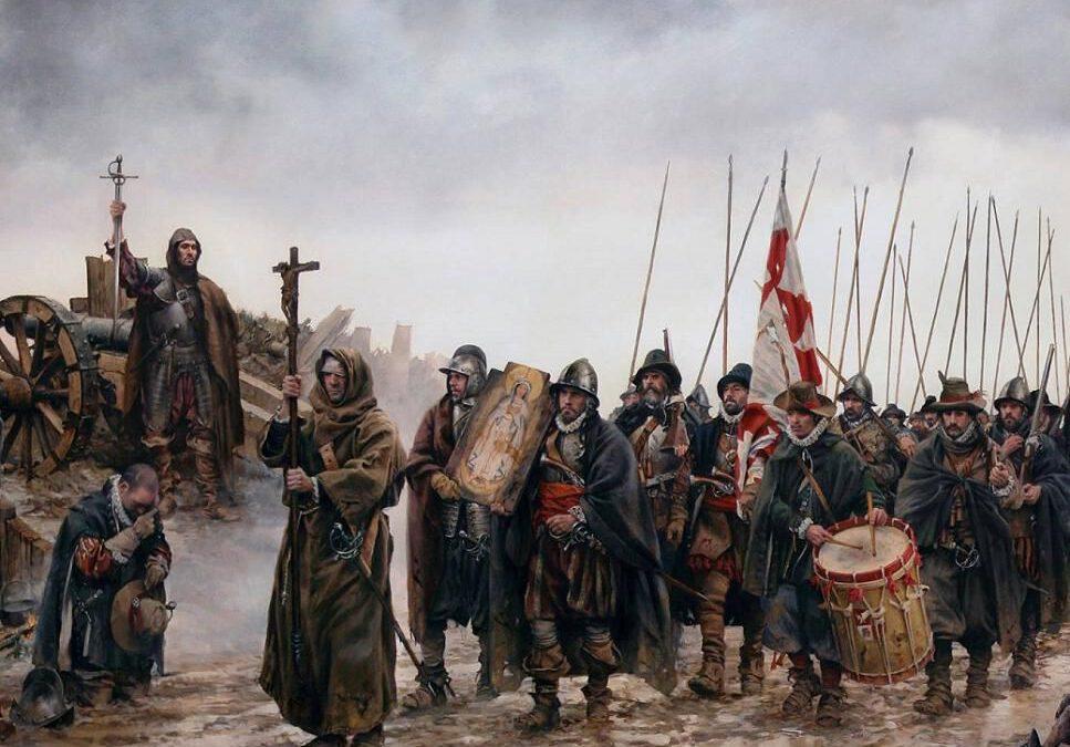 El milagro de Empel en los Países Bajos día de la celebración de la Inmaculada Concepción y de la Constitución Española