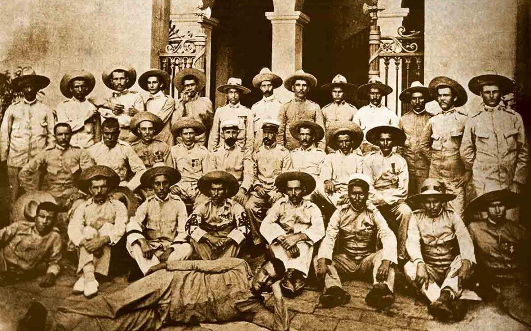 Catalanes luchan por España en el sur de Filipinas 1887