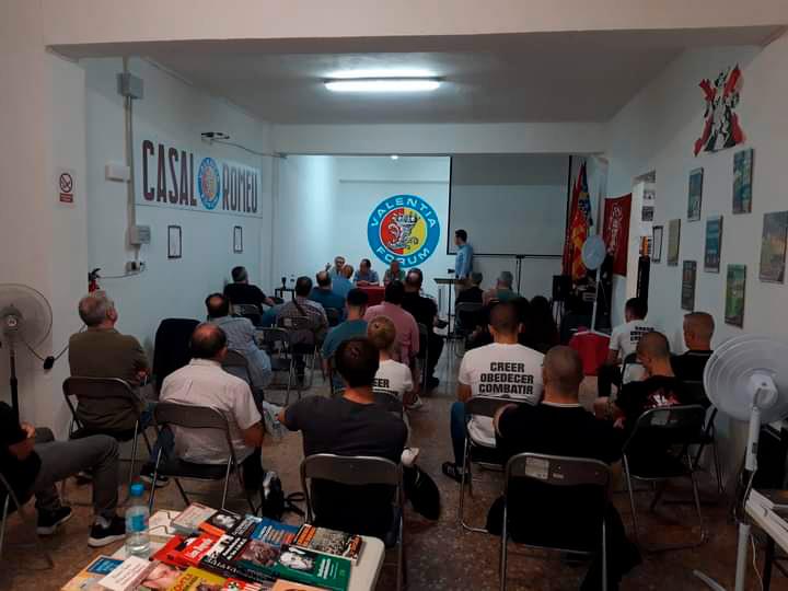 I Jornada de Metapolitica de Valencia España